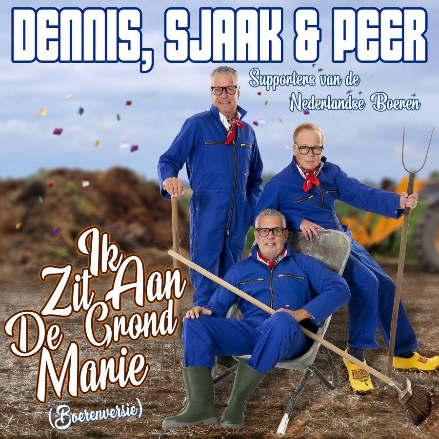Dennis, Sjaak & Peer - Ik Zit Aan De Grond Marie (Boeren versie)